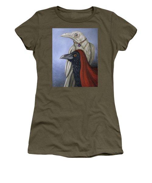 Amethyst Women's T-Shirt (Junior Cut) by Leah Saulnier The Painting Maniac