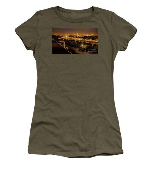An Evening In Florence Women's T-Shirt