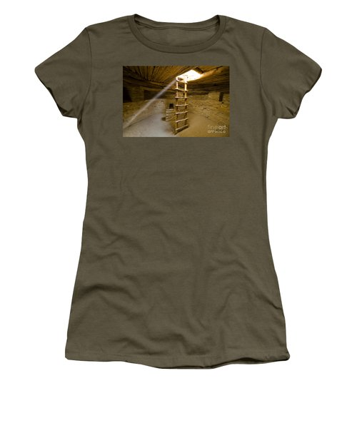 Ancient Kiva Women's T-Shirt (Athletic Fit)