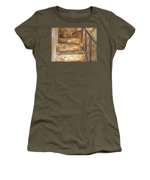 Ancient Stairway Women's T-Shirt