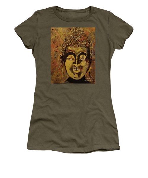 Ancient Textures Women's T-Shirt (Junior Cut) by Stuart Engel