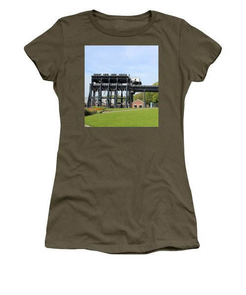 Anderton Boat Lift Women's T-Shirt (Athletic Fit)