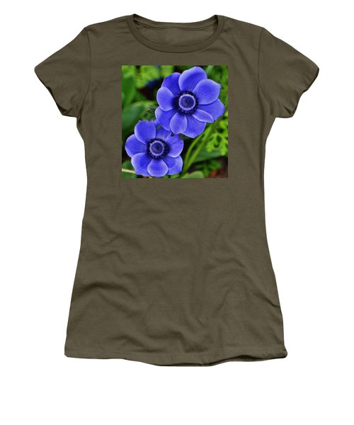 Anemone Nemorosa Women's T-Shirt (Athletic Fit)