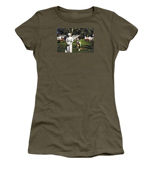 Angel 004 Women's T-Shirt (Junior Cut) by Michael White