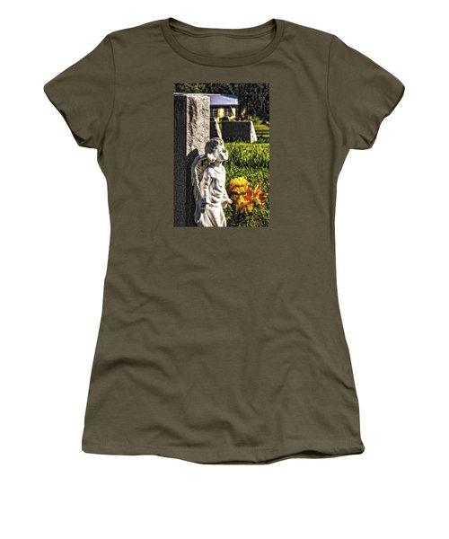 Angel 010 Women's T-Shirt (Junior Cut) by Michael White