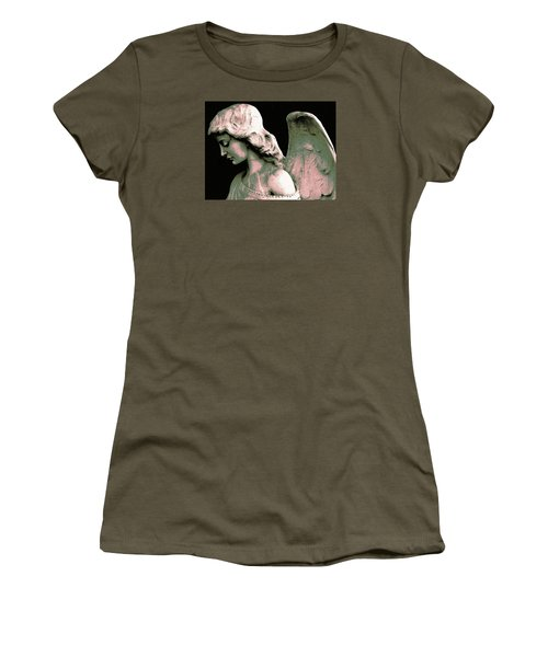Angel 4 Women's T-Shirt (Junior Cut) by Maria Huntley
