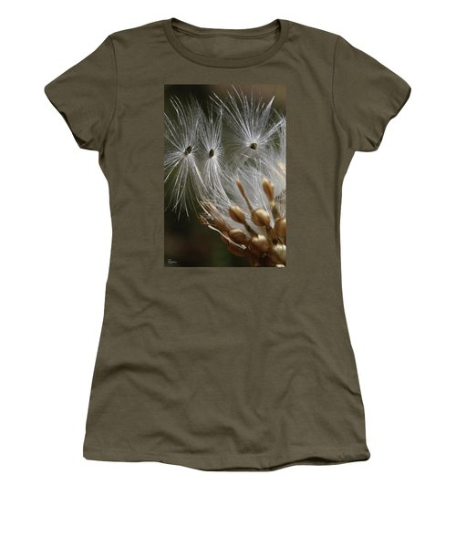 Women's T-Shirt (Athletic Fit) featuring the photograph Angel Down by Rasma Bertz