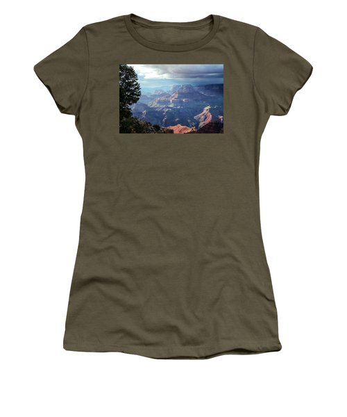 Angel S Gate And Wotan S Throne Grand Canyon National Park Women's T-Shirt