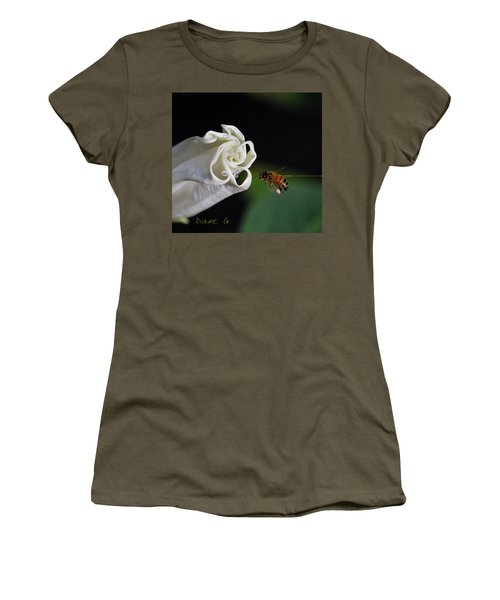 Angel Trumpet Women's T-Shirt (Athletic Fit)