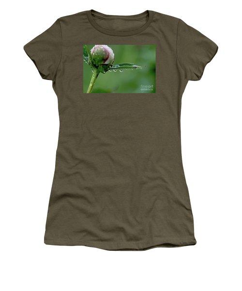 Another Rainy Day Women's T-Shirt (Junior Cut) by Yumi Johnson