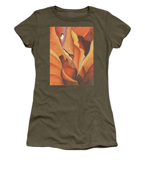 Antelope Canyon 4 - For Gloria Women's T-Shirt