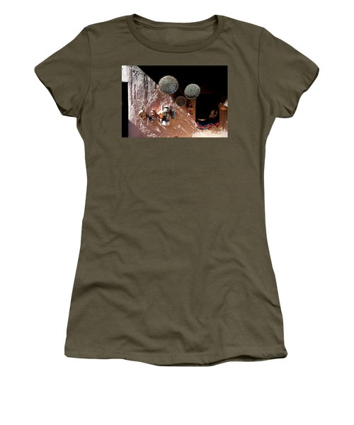 Women's T-Shirt (Junior Cut) featuring the photograph Antique Lanterns by Andrew Fare