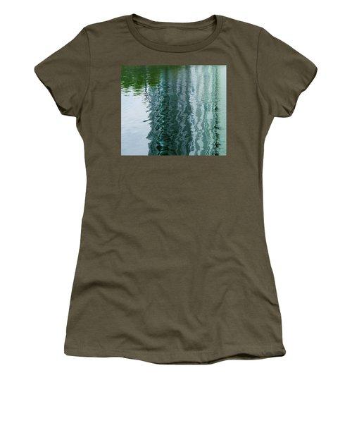 Apartment Building Reflection, Confluence Park, Denver, Colorado Women's T-Shirt
