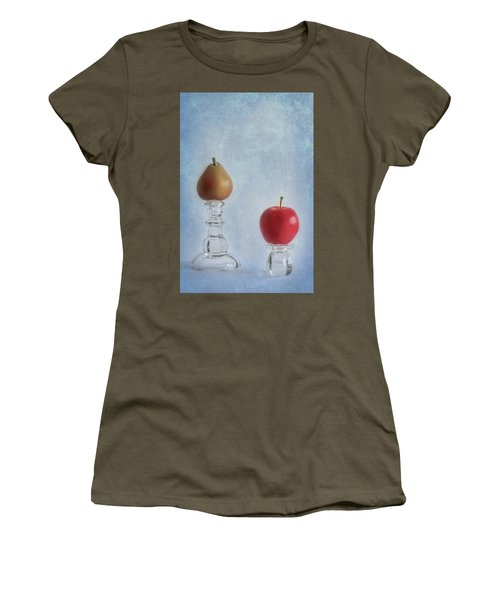 Apples To Pears Women's T-Shirt (Athletic Fit)