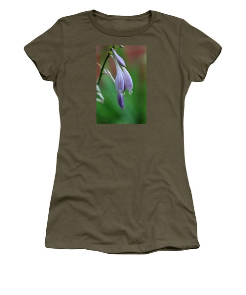 Women's T-Shirt (Junior Cut) featuring the photograph April Ends by Michiale Schneider