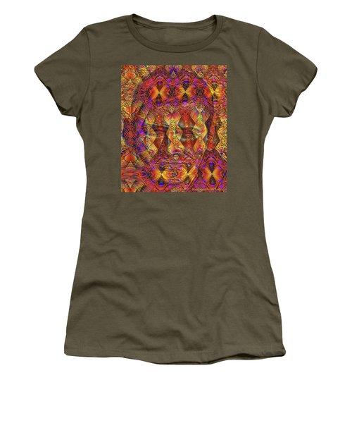 Women's T-Shirt featuring the digital art Arabian Nights Dream by Visual Artist Frank Bonilla