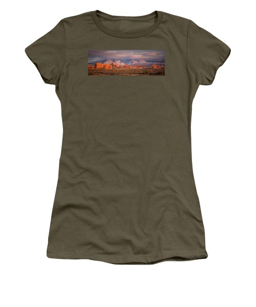 Arches National Park Pano Women's T-Shirt