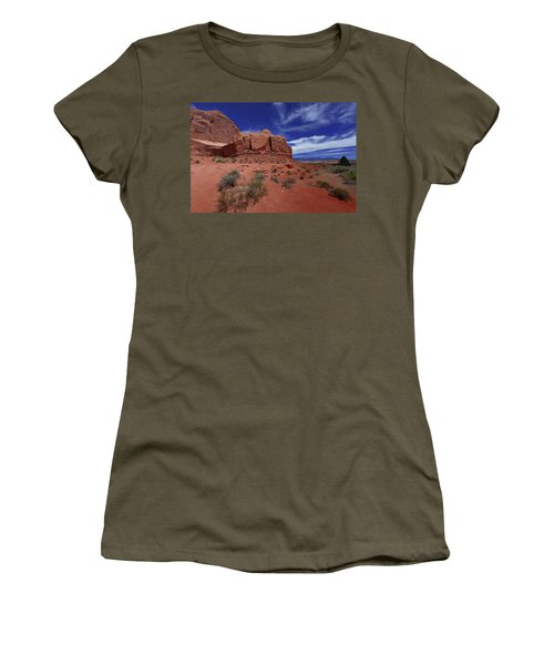 Arches Scene1 Women's T-Shirt (Athletic Fit)