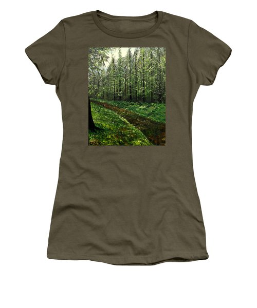 Are You Leaving Women's T-Shirt (Junior Cut) by Lisa Aerts