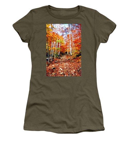 Arethusa Falls Trail Women's T-Shirt
