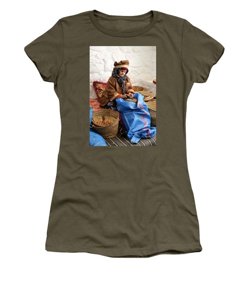 Women's T-Shirt (Junior Cut) featuring the photograph Argan Oil 3 by Andrew Fare