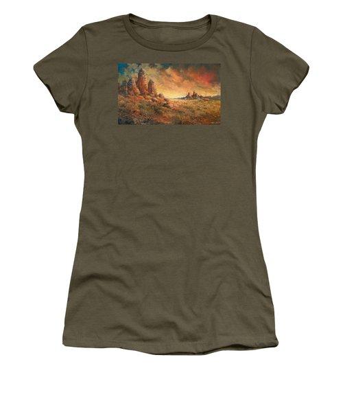 Arizona Sunset Women's T-Shirt (Athletic Fit)