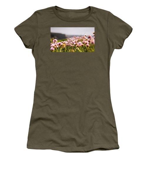 Armeria Women's T-Shirt (Junior Cut) by Keith Sutton