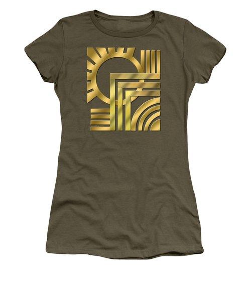 Art Deco 21 Transparent Women's T-Shirt (Athletic Fit)