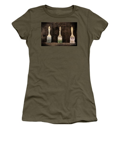 Art Studio Women's T-Shirt (Athletic Fit)