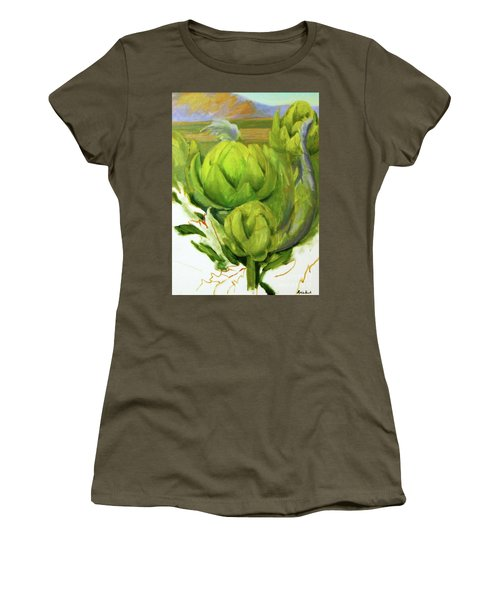 Artichoke  Unfinished Women's T-Shirt (Athletic Fit)