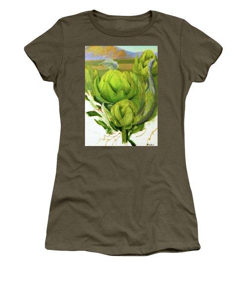 Artichoke  Unfinished Women's T-Shirt (Athletic Fit)