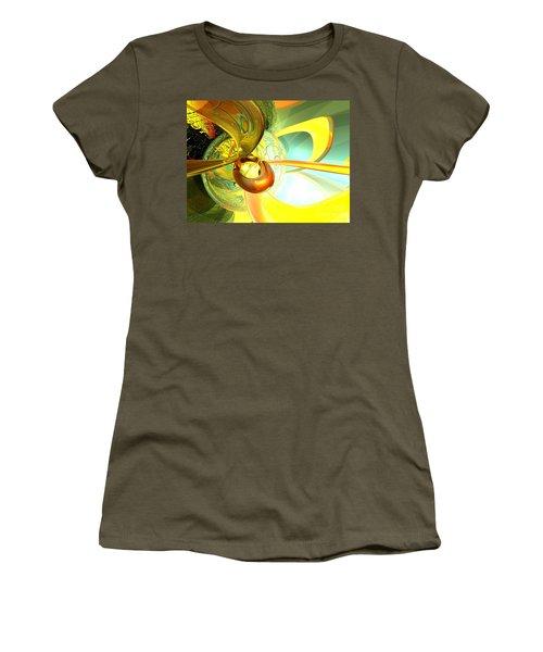 Articulate Design Abstract Women's T-Shirt