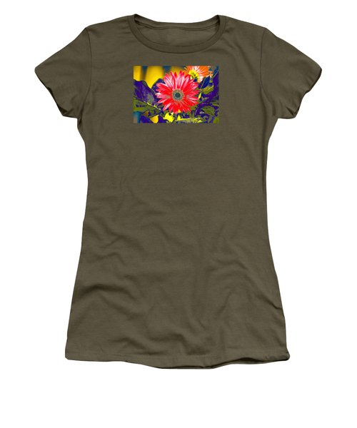 Artistic Bloom - Pla227 Women's T-Shirt (Junior Cut) by G L Sarti