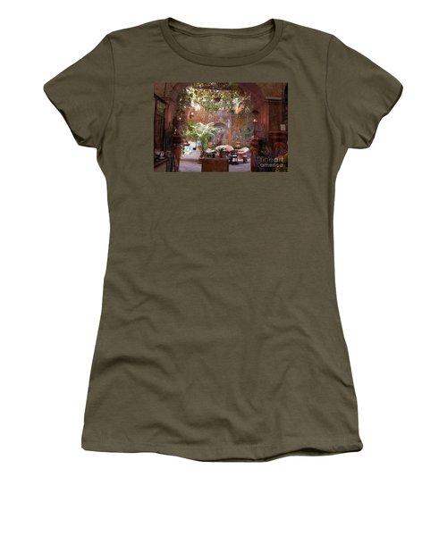 Artists' Studio In Sorrento Italy  Women's T-Shirt