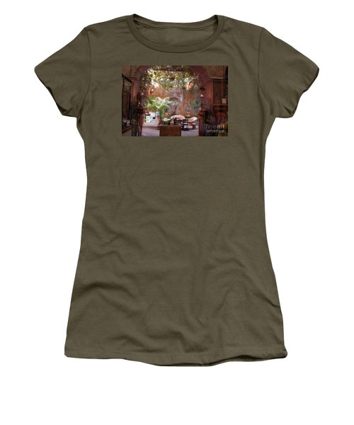 Artists' Studio In Sorrento Italy  Women's T-Shirt (Athletic Fit)