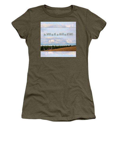 The Simpler Life Women's T-Shirt