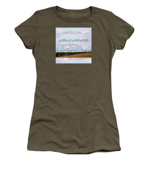 The Simpler Life Women's T-Shirt