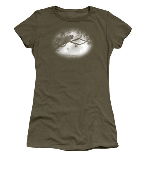 Chat Dans L'arbre Women's T-Shirt