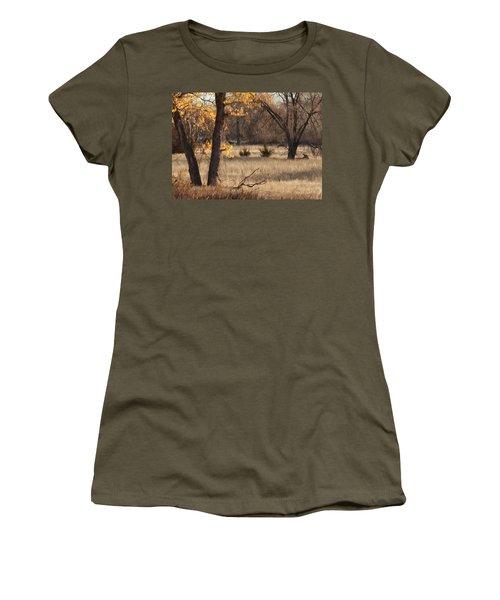 Shades Of Autumn Women's T-Shirt (Junior Cut) by Bill Kesler