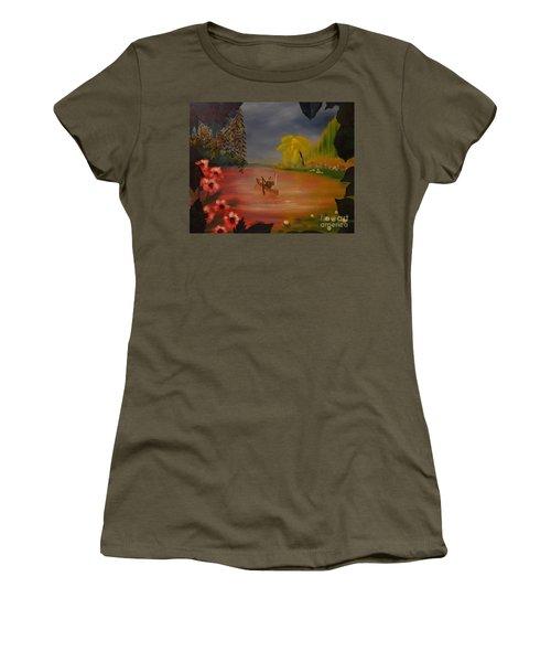 Asian Lillies Women's T-Shirt