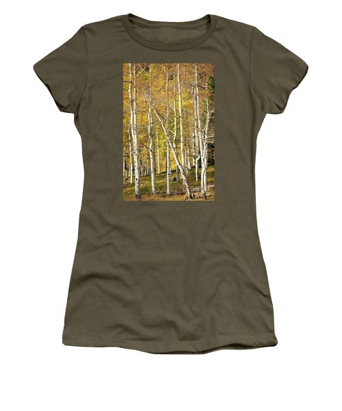 Aspen Forest Women's T-Shirt (Athletic Fit)