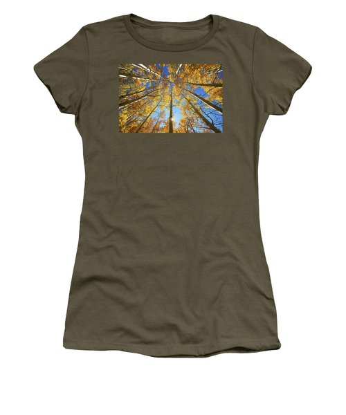 Aspen Tree Canopy 2 Women's T-Shirt (Athletic Fit)