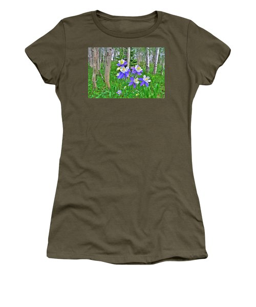Aspens And Columbines Women's T-Shirt (Athletic Fit)