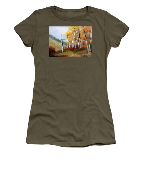 Aspens En Plein Air Women's T-Shirt (Athletic Fit)