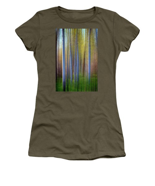 Aspens In Springtime Women's T-Shirt