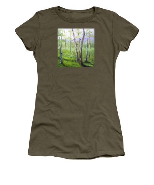 Aspens Soaring Women's T-Shirt (Athletic Fit)