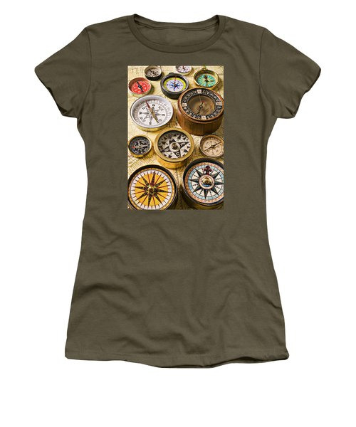 Assorted Compasses Women's T-Shirt