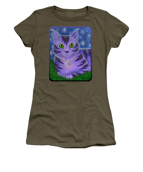 Astra Celestial Moon Cat Women's T-Shirt