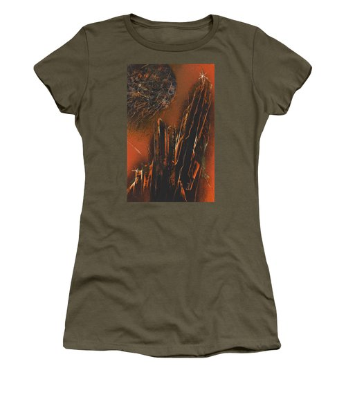 Astral Colonnades Women's T-Shirt (Athletic Fit)