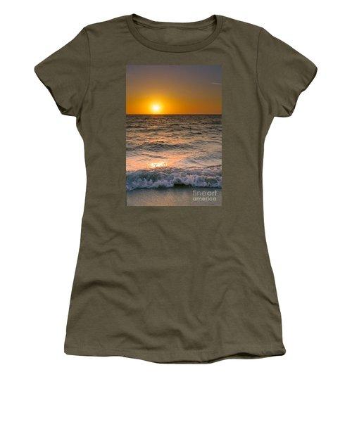 At Days End Women's T-Shirt (Junior Cut) by Kym Clarke